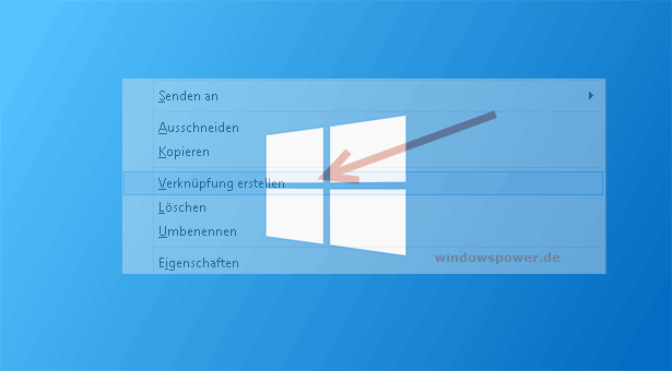 windows-8-verknuepfung-erstellen