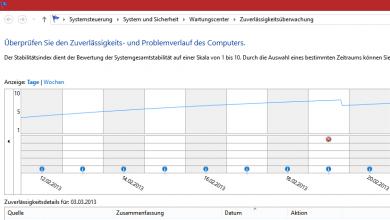 unbenannt 390x220 - Windows 8 Zuverlässigkeits Anzeige