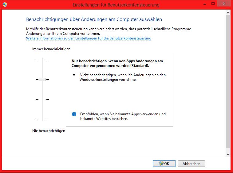 unbenannt5 - Windows 8 Benutzerkontensteuerung (UAC) deaktivieren