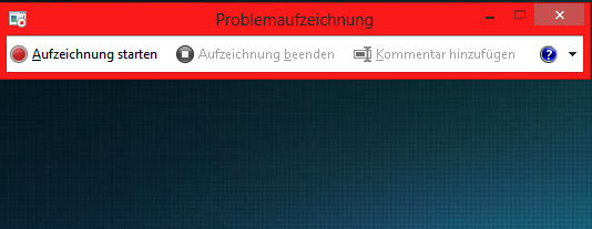 unbenannt - Windows 8 Aufzeichnungsasisstent