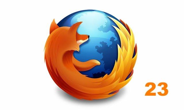firefox 23 - Firefox 23 veröffentlicht