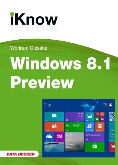 imgjpg - Kostenlos: iKnow Windows 8.1 Preview E-Book