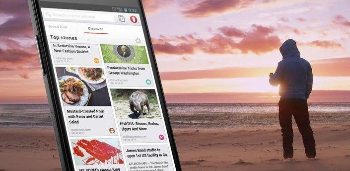 opera fuer android - Opera Mobile – schnelles Surfen plus Datenguthaben sparen