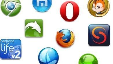 Bild von Die beliebtesten Browser für Android