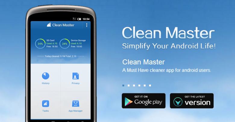 clean master app 780x405 - Clean Master räumt ihr Smartphone auf