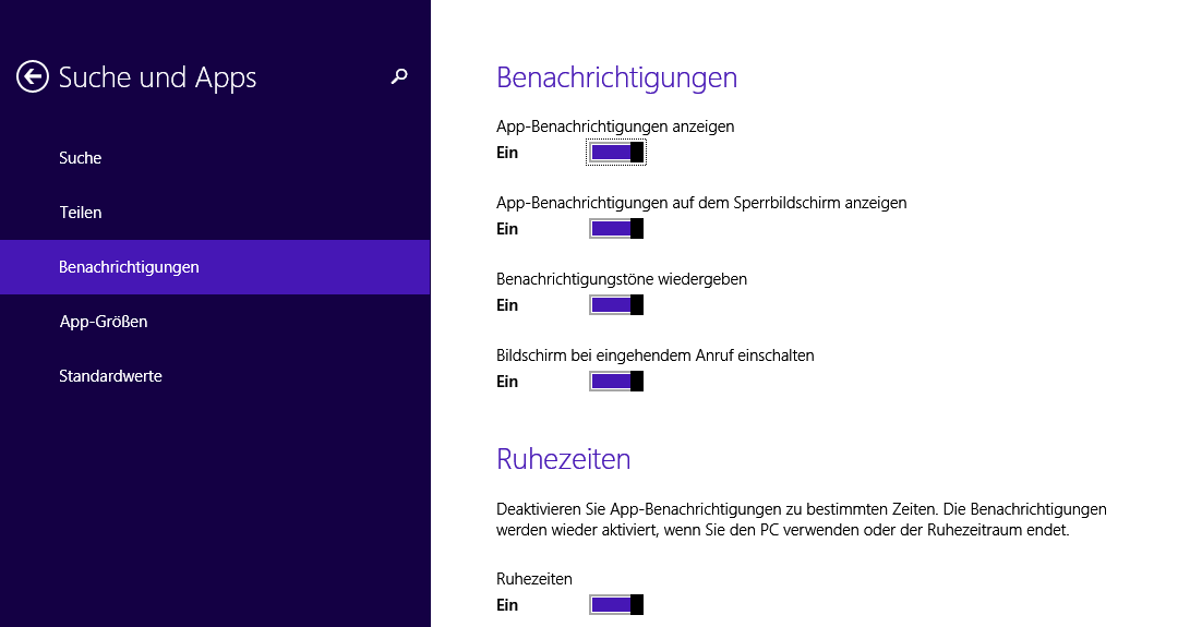 unbenannt4 - Windows 8-8.1 Benachrichtigungseinstellungen ändern