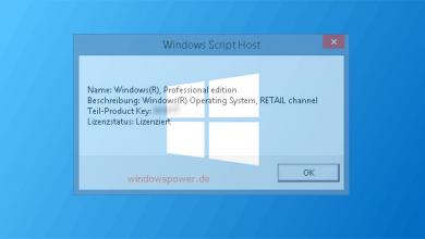 windows aktivierungsstatus 390x220 - Windows 8/8.1 - Aktivierungsstatus anzeigen