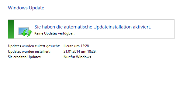 windows update - Kann man bei Windows 8 den Update-Prozess beschleunigen?