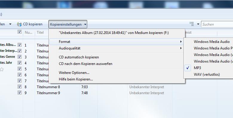 unbenannt8 780x396 - Audio-CD Rippen mit Windows Media Player
