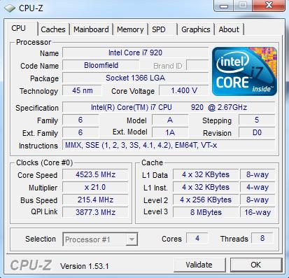 1 - PC Hardware auslesen mit CPUID