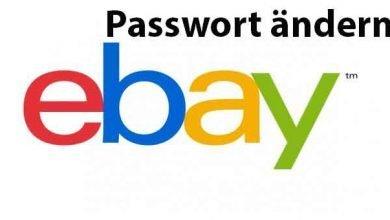 ebay passwort aendern 390x220 - Wichtig - eBay Passwort ändern - so geht's