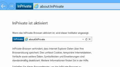 ie private modus starten 390x220 - Internet Explorer 11  - Immer mit privat Modus starten