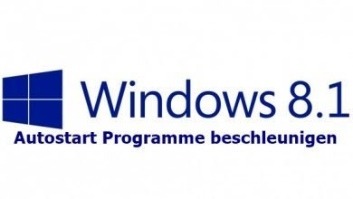 windows 8.1 blue 390x220 - Windows 8/8.1 Autostart Programme beschleunigen