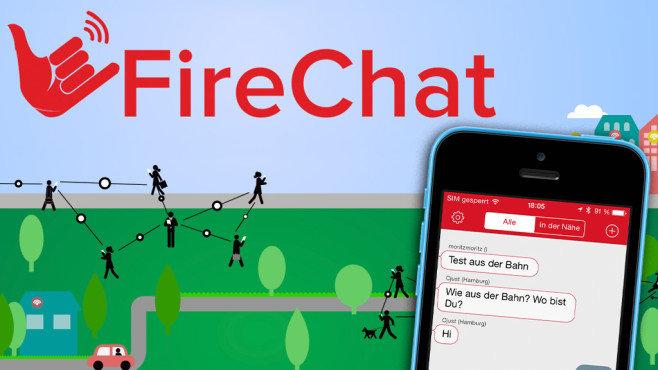 firechat heisste eine neue messenger app fuers iphone 658x370 da99b94c10694aa7 - Chatten ohne Internet oder Mobilfunk am Handy – Firechat machts möglich
