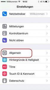 iphone-allgemein iPhone zurücksetzen – Wiederherstellung der Werkseinstellung