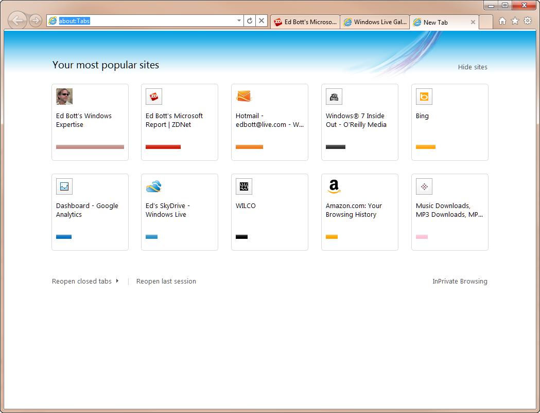 post 331 129063121745 - Internet Explorer Startseite als neuen Tab einstellen