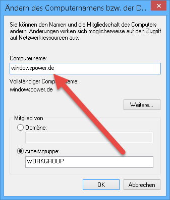 ändern-des-computernamens Computername ändern bei Windows 8.1