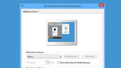 bildschirmschoner deaktivieren oder aktivieren bei windows 8.1 390x220 - Bildschirmschoner deaktivieren oder aktivieren bei Windows 8.1