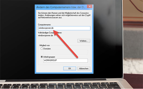computername aendern bei windows 8.1 - Computername ändern bei Windows 8.1
