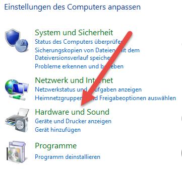 hardware-sound Automatische Wiedergabe deaktivieren unter Windows 8.1