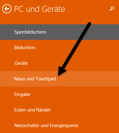 Maus und Touchpad maus-und-tauchpad