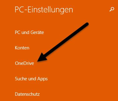 onedrive Einstellungen mit OneDrive synchronisieren Windows 8.1 – Einstellungen mit OneDrive synchronisieren onedrive