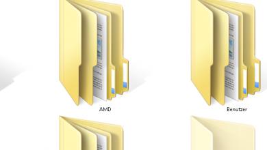 ordner 390x220 - Mehrere Ordner gleichzeitig öffnen mit Windows