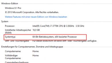 systemtyp 32bit 64bit1 390x220 - 32 Bit oder 64 Bit - Welche Windows Version ist installiert?