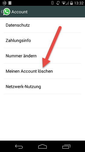 Android account loeschen android-account-loeschen