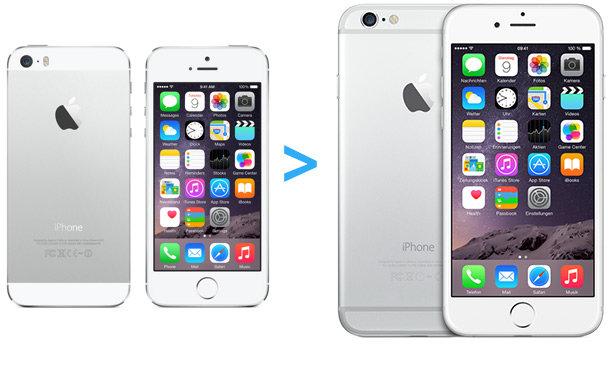 umziehen altes iphone auf neues iphone 6 ohne datenverlust - Umziehen altes iPhone auf neues iPhone 6 ohne Datenverlust