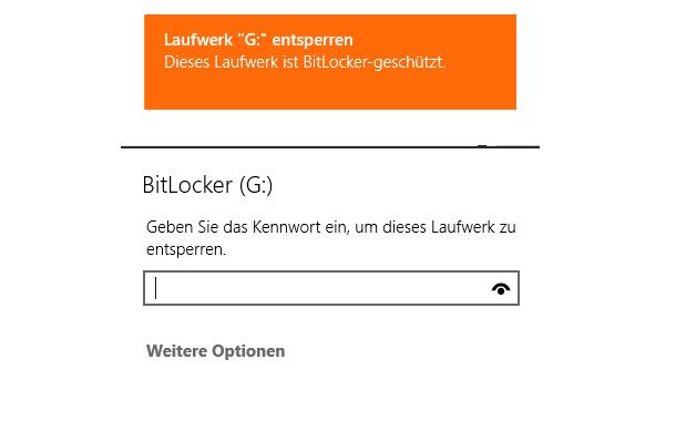 windows 8 1 usb stick mit bitlocker verschluesseln - Windows 8.1 - USB Stick mit BitLocker verschlüsseln