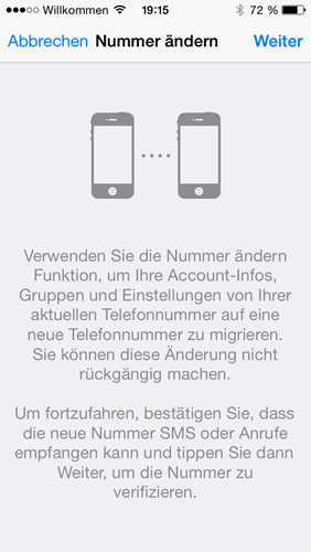iphone-nummer-aendern