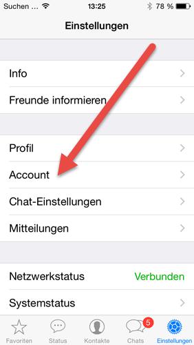 iphone-whatsapp-einstellungen-account