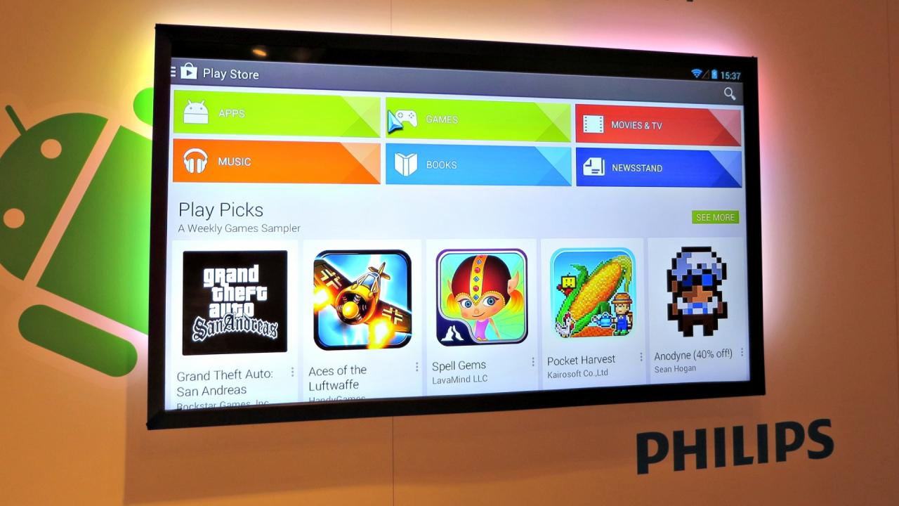 philips android - Philips bringt den 1. Android TV