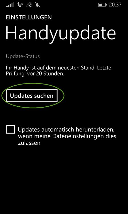 windows Phone handyupdate suchen windows-phone-handyupdate-suchen