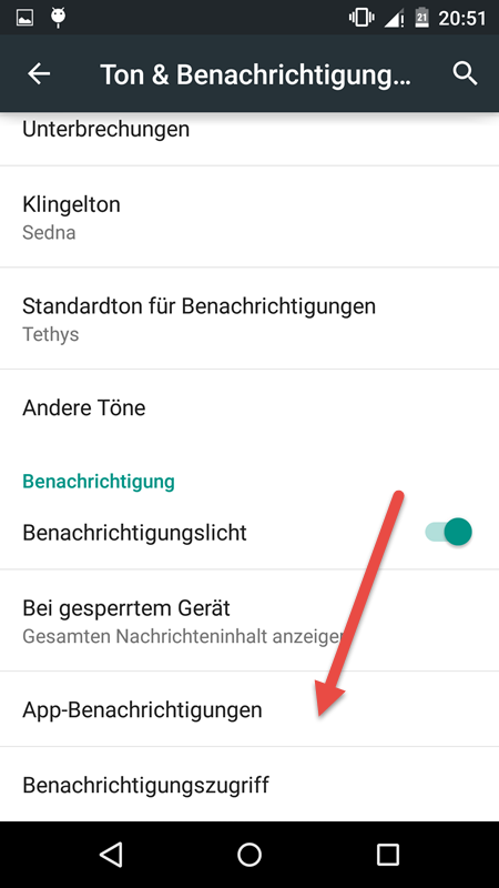 App Benachrichtigungen app-benachrichtigungen