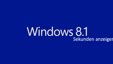 windows 8 1 sekunden in der taskleiste anzeigen 390x220 - Windows 8.1 Sekunden in der Taskleiste anzeigen
