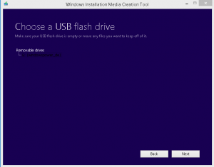 windows auf USB flash drive