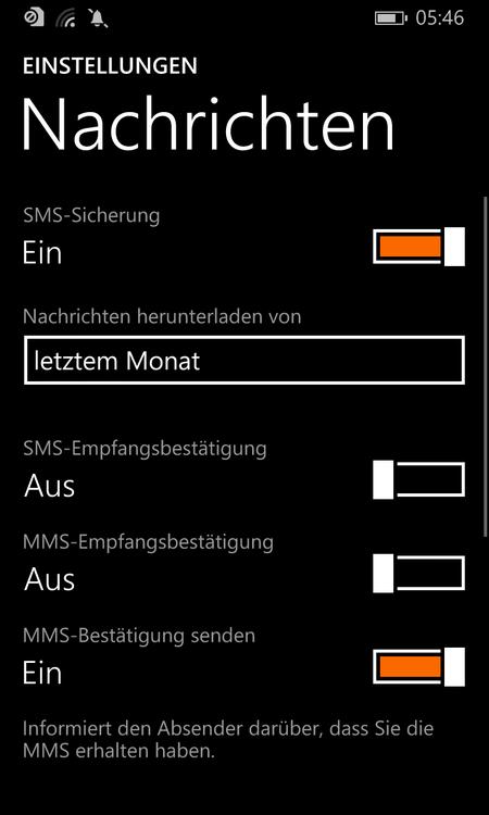 windows phone sicherung sms nachrichten