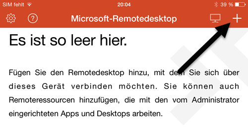 Microsoft Remote Desktop App- iPhone einrichten