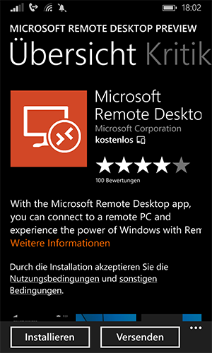 Microsoft-Remote-Desktop-App--Windows-Phone-Installieren