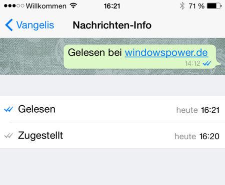 nachricht gelesen zugestellt WhatsApp – Wann ist die Nachrichten gelesen worden?