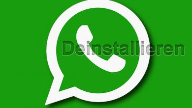 whatsapp deinstallieren entfernen loeschen 390x220 - WhatsApp deinstallieren von iPhone, Android und Windows Phone