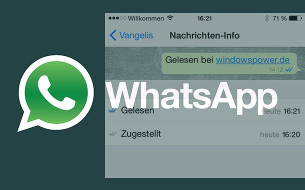 WhatsApp – Wann ist die Nachrichten gelesen worden?