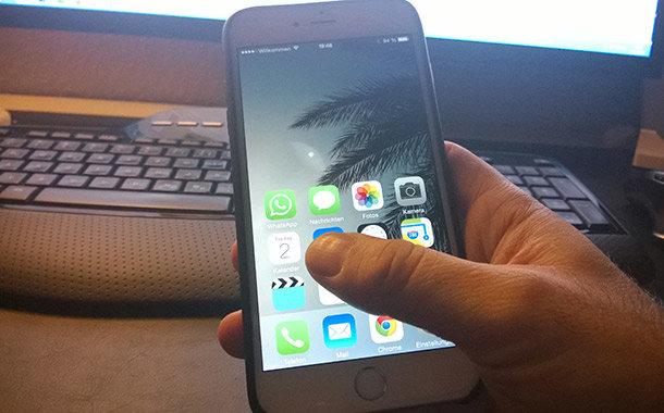 einhandmodus deaktivieren und aktivieren - Einhandmodus Deaktivieren und aktivieren bei iPhone 6 und iPhone 6 Plus