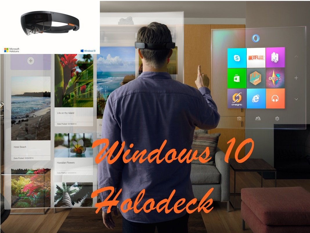 win10 hololens livingroom web - Windows 10 kommt mit Holodeck