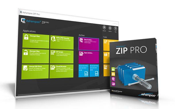 ashampoo zip pro - Ashampoo Zip Pro - Daten komprimieren und verschlüsseln + 10 Vollversionen  zu gewinnen