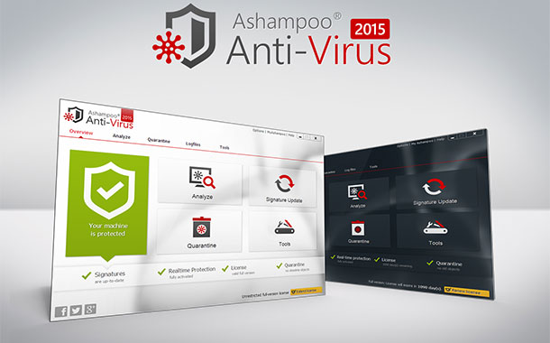 ashampoo anti virus - Ashampoo Anti-Virus 2015 erschienen