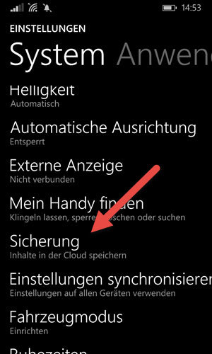 Windows Phone OneDrive App: Automatischer Foto-Upload‏ aktiviere
