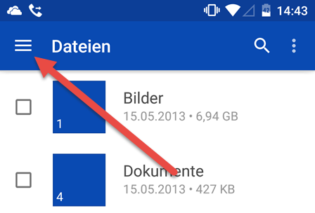 Android OneDrive App